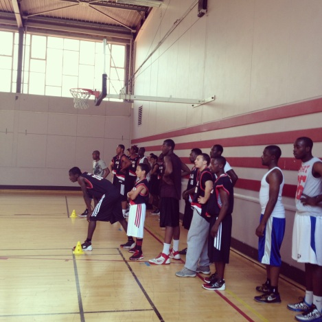 D Rose Basketball Camp