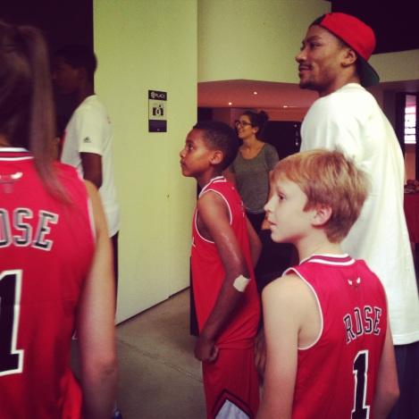 Derrick Rose Kids