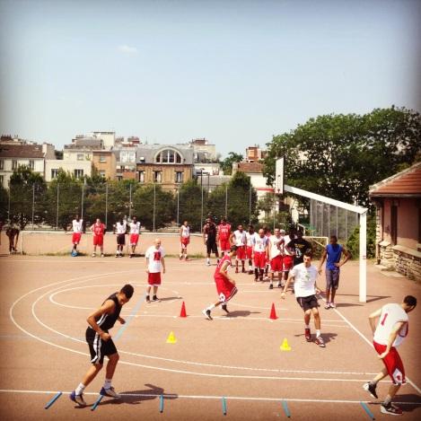 D Rose Basketball Camp