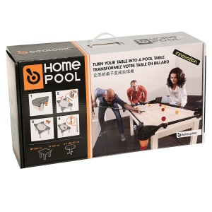 GEOLOGIC Homepool: Play pool on your own table with weighted balls. €49,95