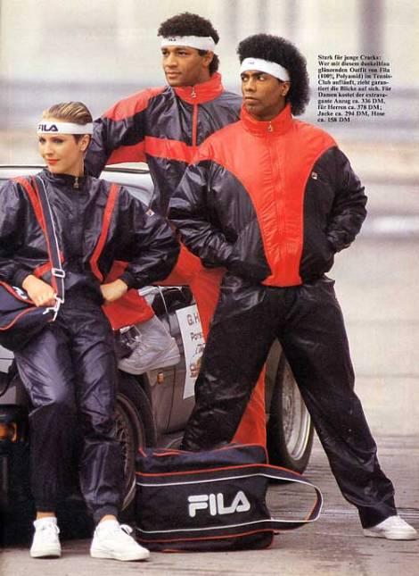 Fila suits '85
